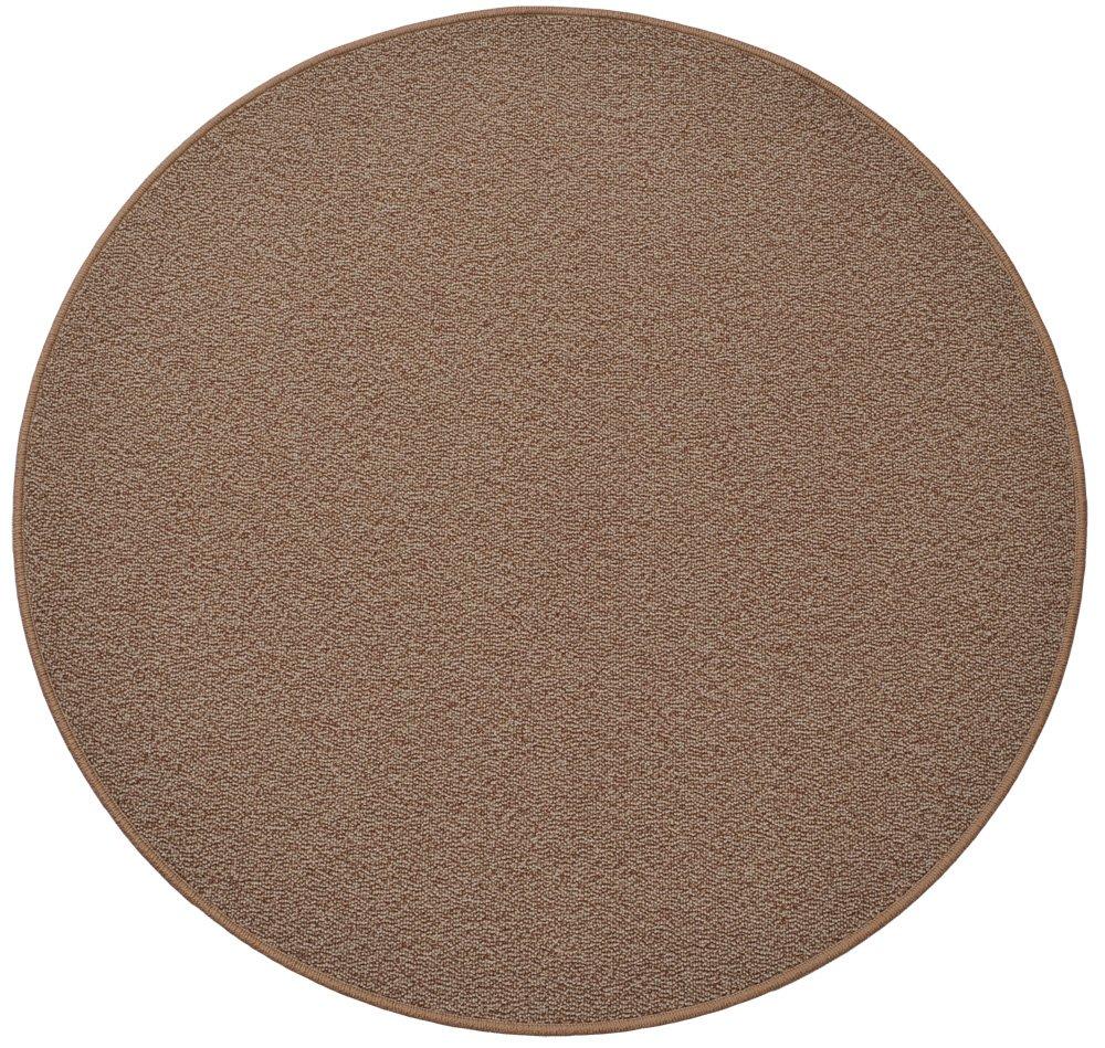 円形ラグ 撥水 滑り止め付 径200cm ココアブラウン B00LUFZBQC 径200cm,06.ココアブラウン