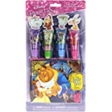 Beauty and the Beast 4 Pack Lip Gloss with Pouch