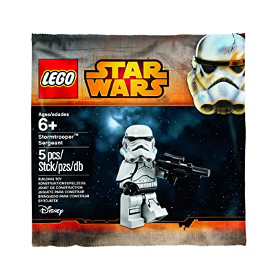 LEGO, Star Wars, Stormtrooper Sergeant Minifigure Bagged: Toys & Games