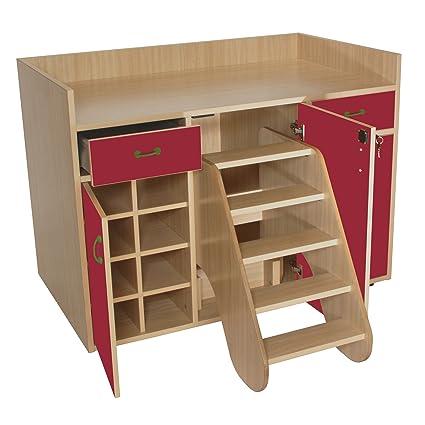 Mobeduc 3 puertas muebles para cambiar pañales con medidas, madera ...