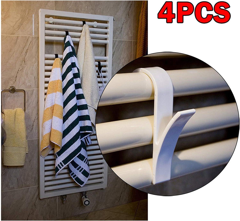 Fahooj Weiss T/ürgarderobenhaken Kleiderhaken T/ür,Universal T/ürgarderobe Garderobenhaken T/ürh/ängehaken Handtuchhaken T/ürh/änger Schrankhaken Garderobenhaken 10 x 6.5 x 2.6cm, 8PC