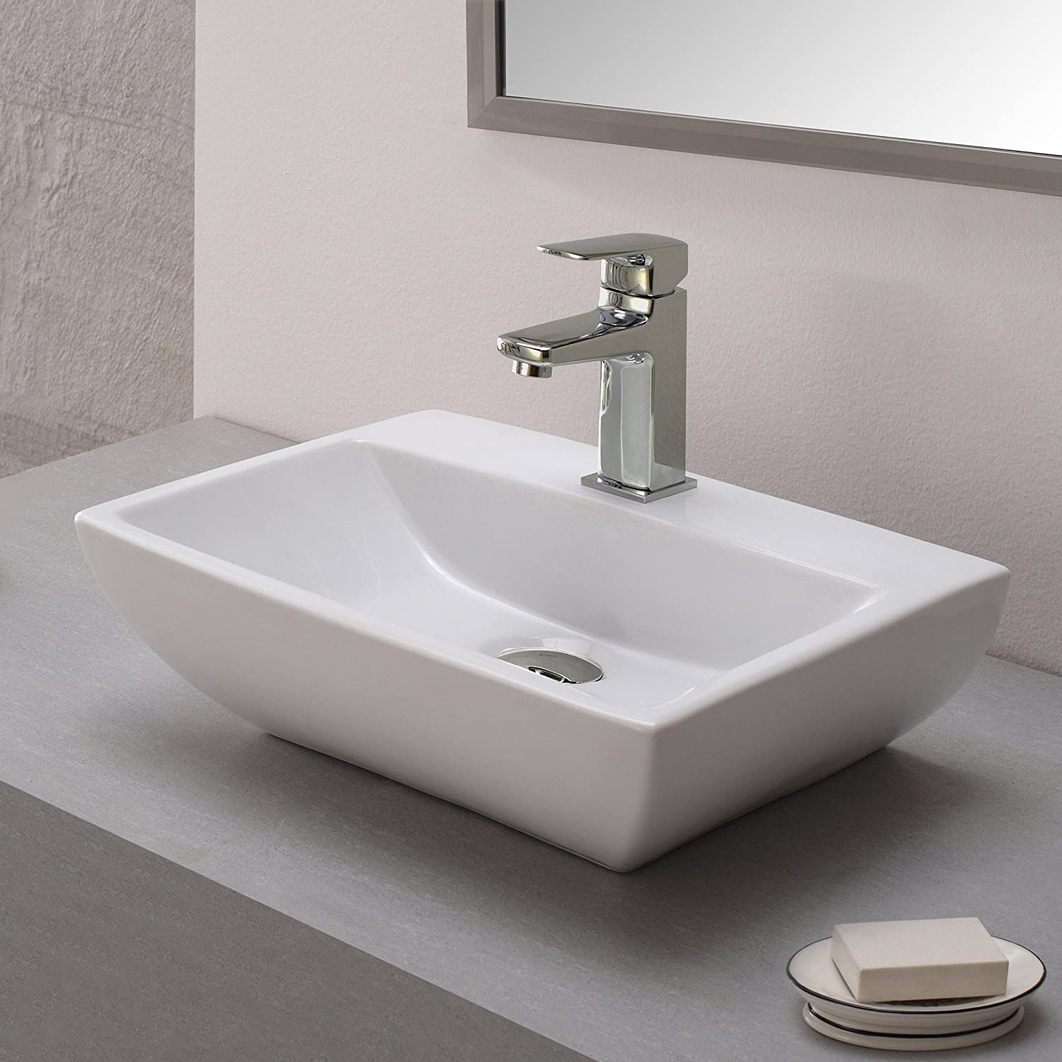 Kraus KEF-15501-PU16BN Virtus Single Lever Basin Bathroom Faucet and ...