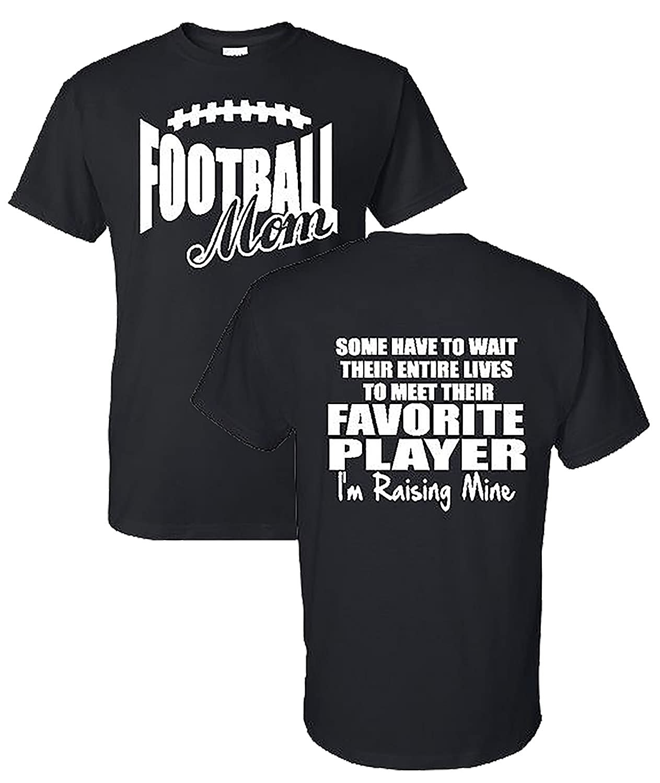 8b0a14d3 Amazon.com: Football Mom T-Shirt: Clothing