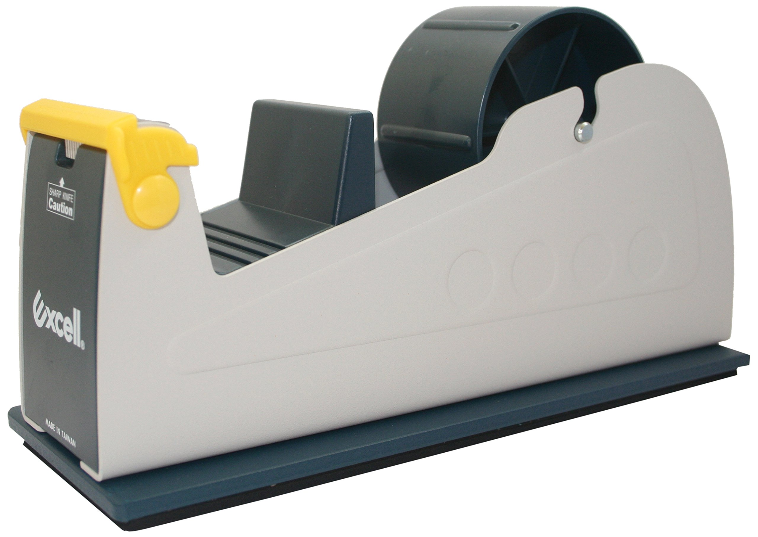 Maxi MX21TT Excellent Quality Steel Desk Top Dispenser, for Up to 2'' Wide Tape, 10'' Length x 10'' Height x 3'' Weight