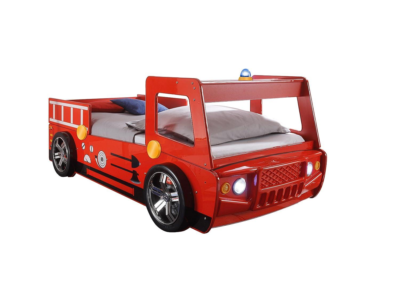 Feuerwehrauto Bett - Stella Trading Spark Autobett