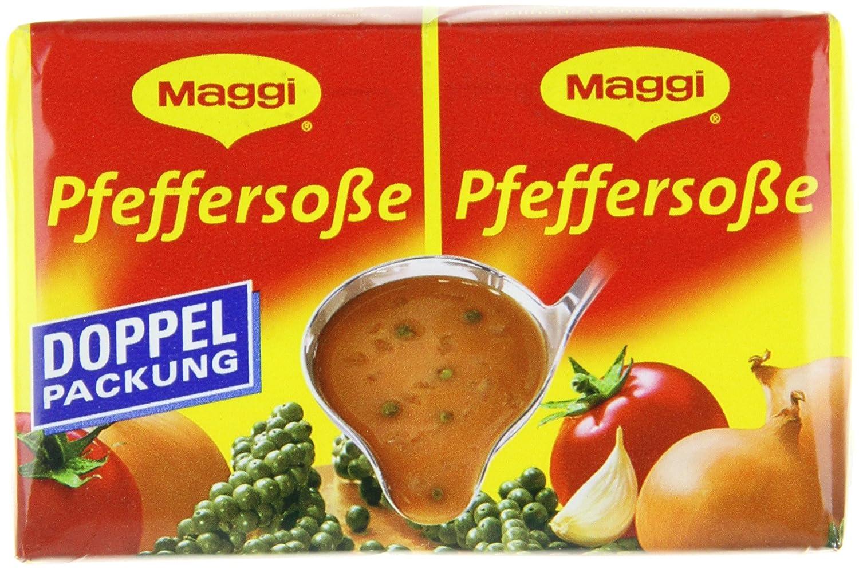 Maggi delikatess doble Pack pimienta salsas, 18 pack (18 x 500 ml de cartón): Amazon.es: Alimentación y bebidas