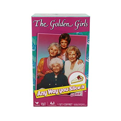 Cardinal The Golden Girls Any Way You Slice It Trivia Game: Toys & Games