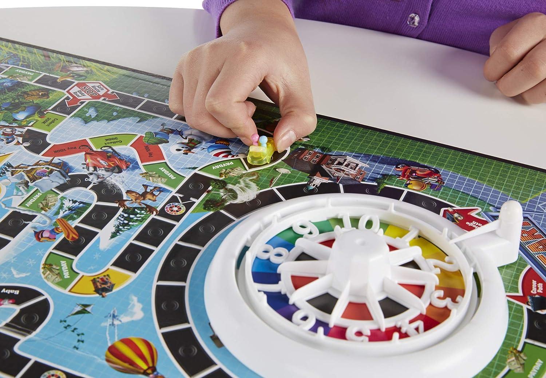 Hasbro El Juego de la Vida con Banco electrónico: Amazon.es: Juguetes y juegos