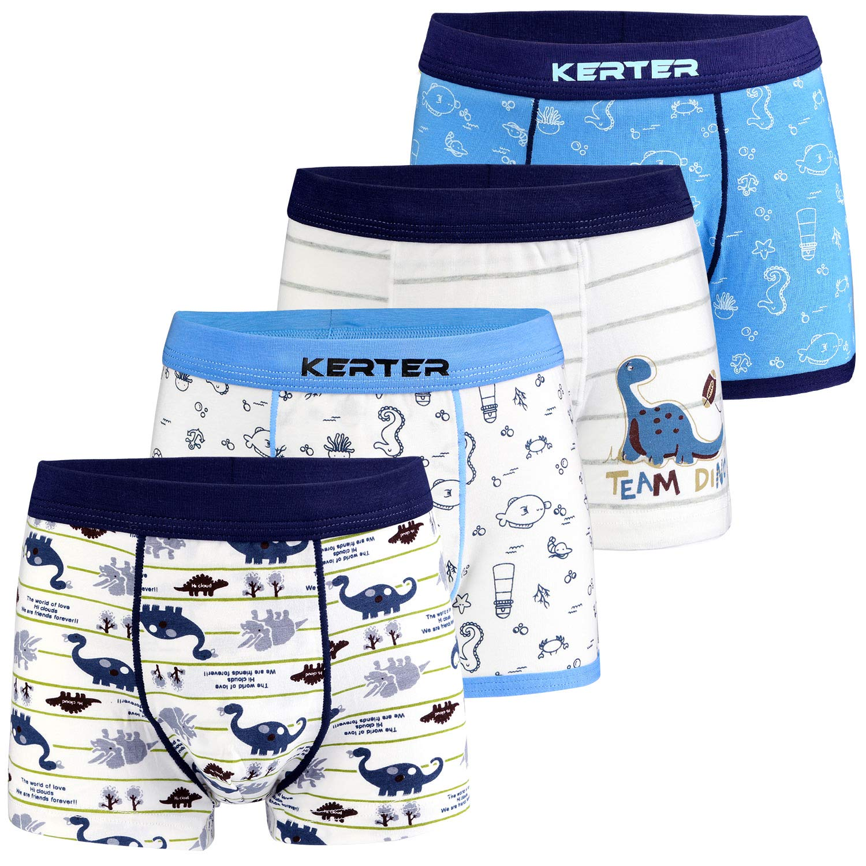 Lora Dora Boys Cotton Blend Boxer Shorts Pack of 3