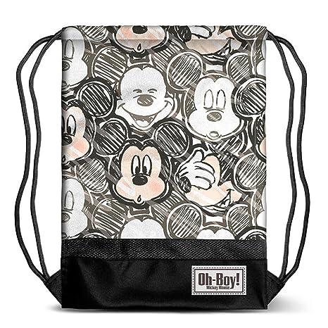 Mickey Mouse KM-37542 2018 Bolsa de Cuerdas para el Gimnasio, 40 cm