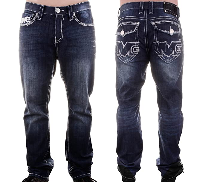 Amazon.com: Monsta Clothing Co. jeans para hombre (jeans-259 ...