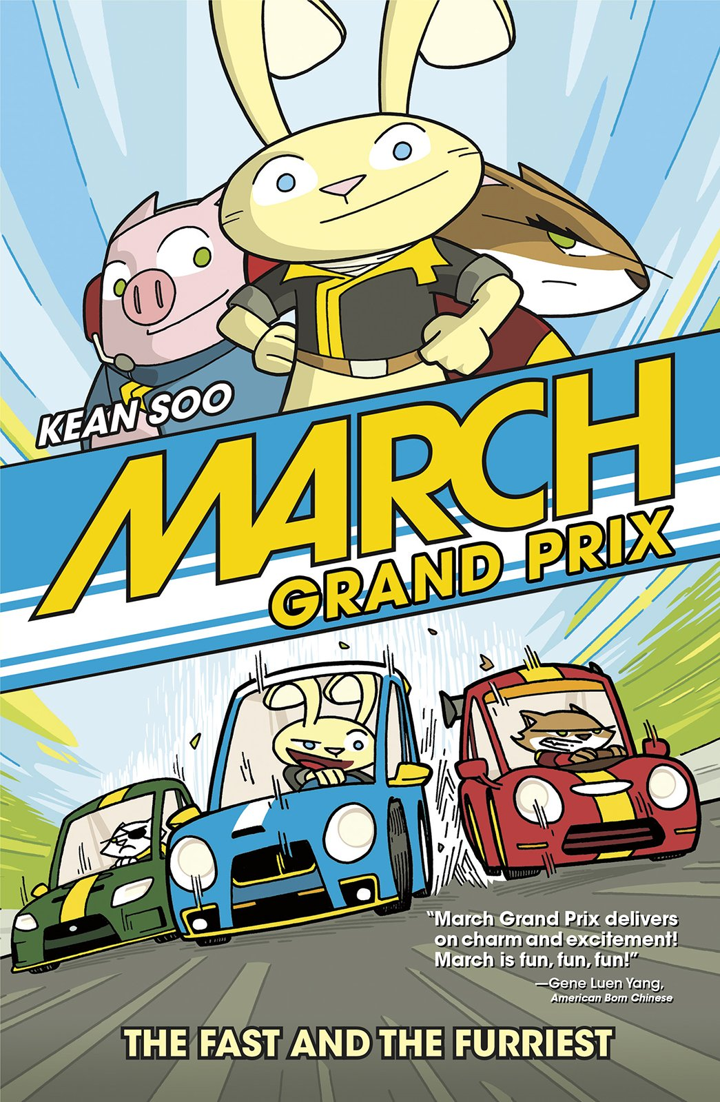 March Grand Prix: The Fast and the Furriest: Amazon.es: Kean Soo: Libros en idiomas extranjeros