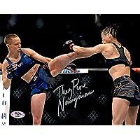 $39 » Rose Namajunas Zhang Weili auto signed inscribed 8x10 photo UFC PSA Full Graph