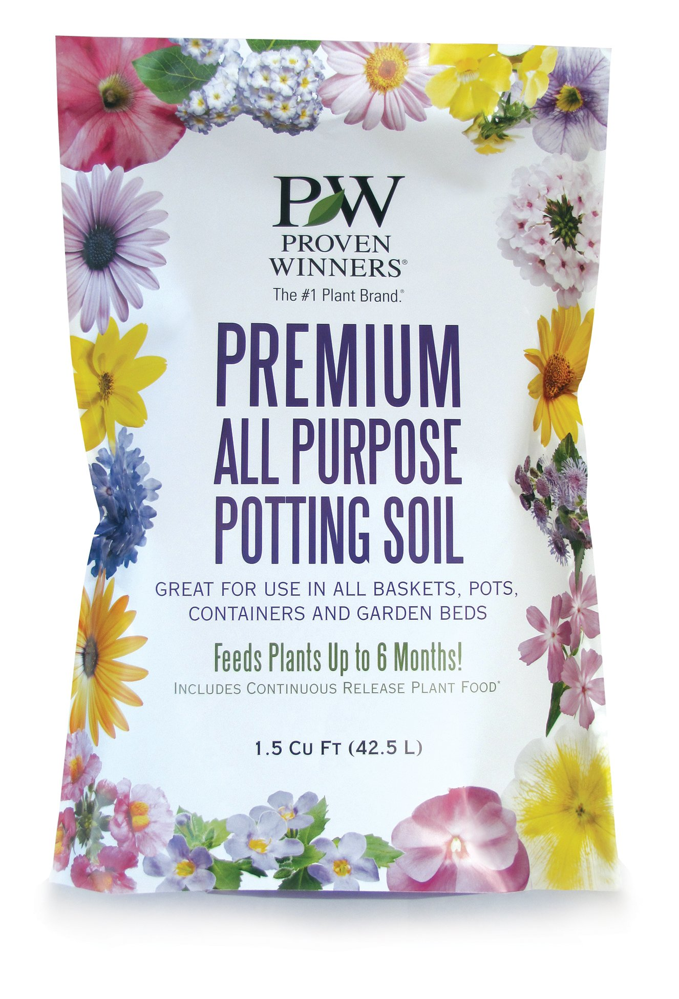 Premium All Purpose Potting Soil, 1.5 cu. ft. Bag by Proven Winners