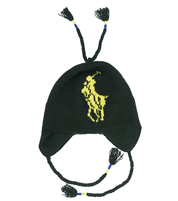 24f96e6e642 Polo Ralph Lauren Men Lambswool Big Pony Logo Hat (One size
