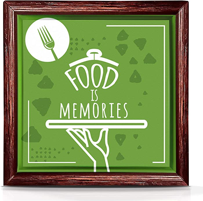 Gifts for Foodies | Perfect Kitchen Wall Decor for Food Lovers | Unique Food Gifts for Kitchen Decorations | Gifts for Food Lovers | Food Themed Gifts | Unusual and Fun Food Gift Ideas