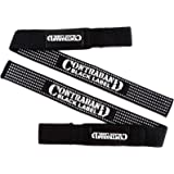 Contraband Black Label 2020 Padded Cotton Lifting Straps w/ Silicone Injection Grip