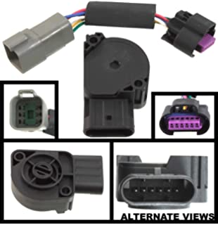 amazon com apdty 133622 wiring harness pigtail connector 6 wire apdty 112792 tps apps throttle position accelerator pedal position sensor w wiring harness adapter connector
