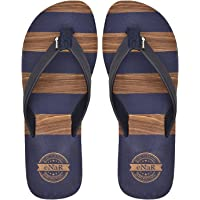eNaR Women's Navy Color Thong-Style Slippers/Flip Flops
