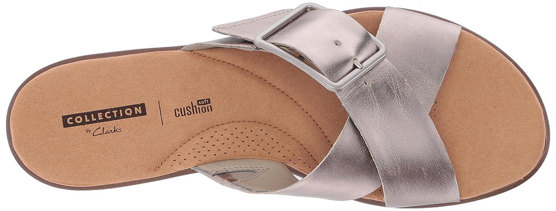 b3bb83848954 Clarks Women s Kele Heather Flat Sandals  Amazon.ca  Shoes   Handbags