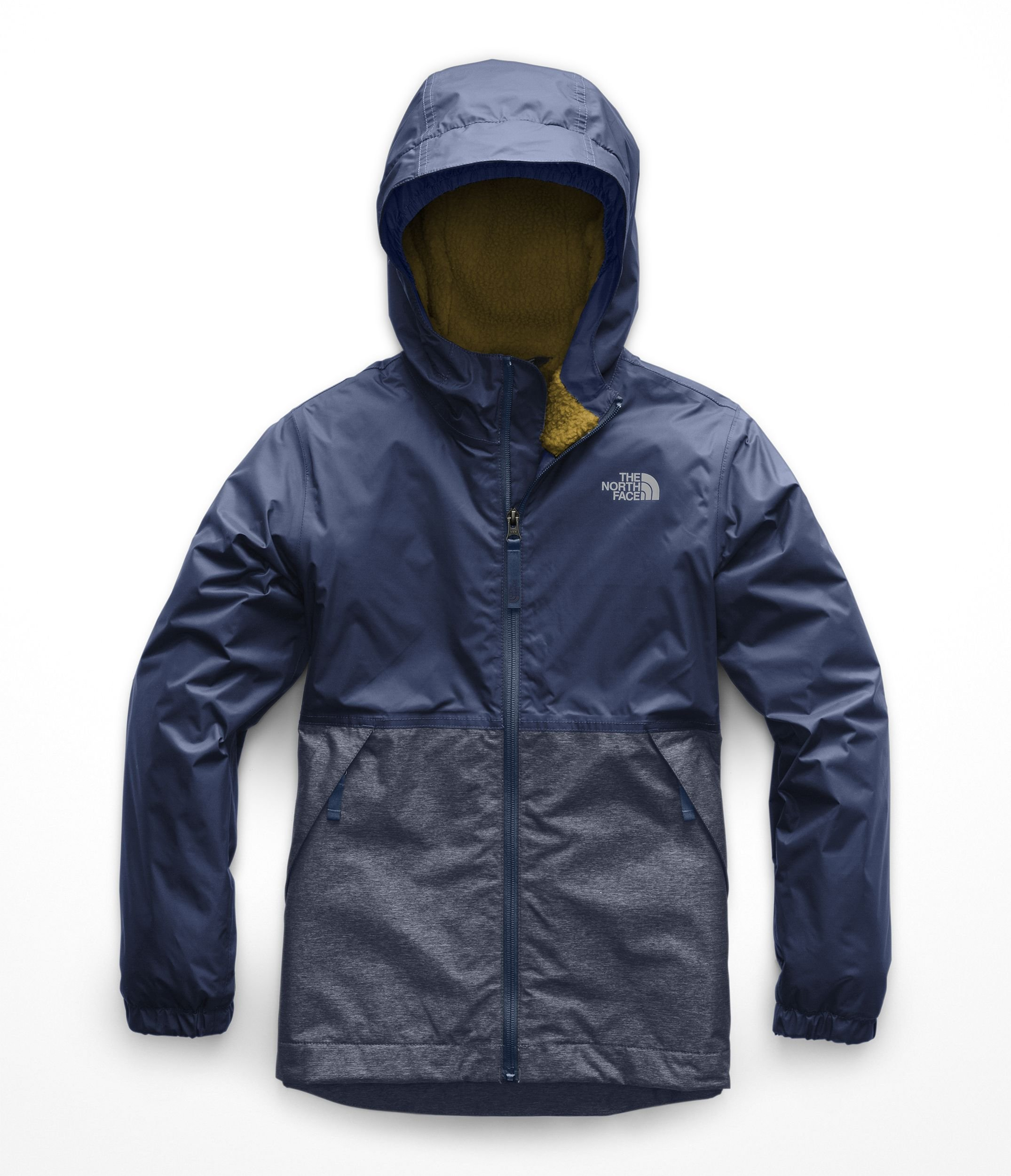 The North Face Boy's Warm Storm Jacket - Shady Blue - XL by The North Face