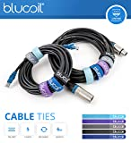 BOSS BCB-60 Pedalboard and Case Bundle with Blucoil 2-Pack of 10-FT Straight Instrument Cable (1/4in), 2-Pack of Pedal Patch Cables, 4-Pack of Celluloid Guitar Picks, and 5-Pack of Reusable Cable Ties