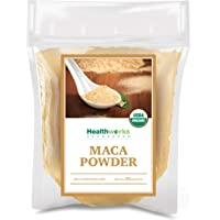 Healthworks Maca Powder Raw (32 Ounces / 2 Pounds) | Certified Organic Flour Use | Keto, Vegan & Non-GMO | Premium…