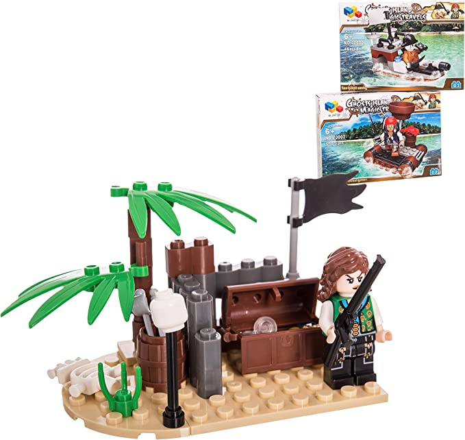 Juinsa-95372 Construcción Compatible Pirata (95372): Amazon.es ...
