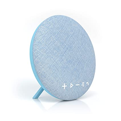Large Wireless Bluetooth Fabric Speaker Portable Audio & Headphones Sporting Deco Series Speaker By Tzumi