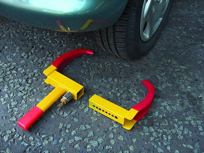 Streetwize SWWL2/Antivol de voiture Fixation sur roue Jaune//rouge