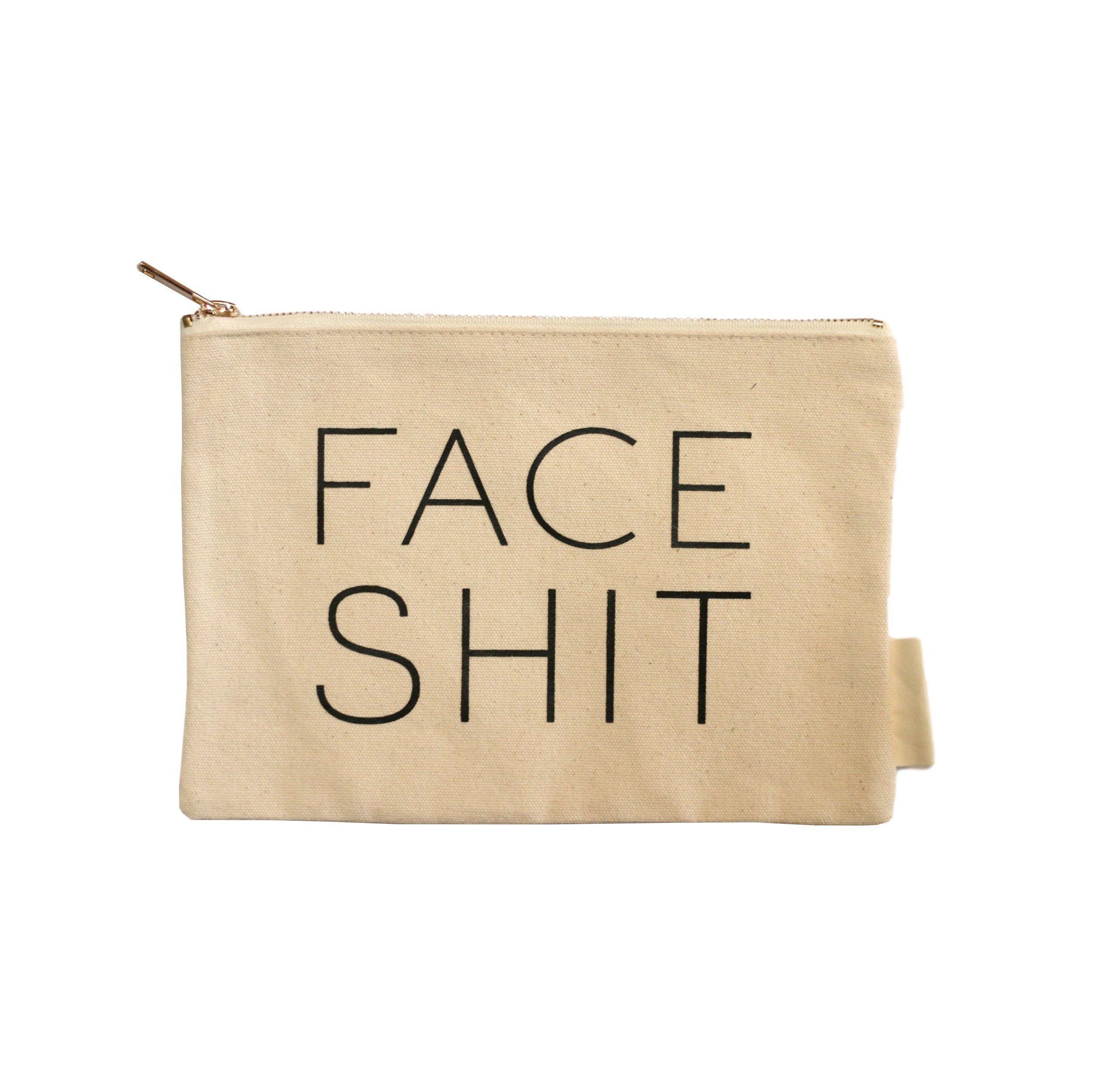 Face Shit Makeup Bag