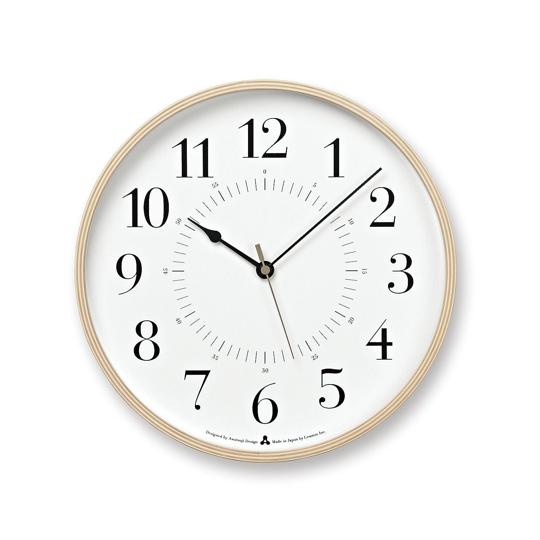 Lemnos TOKI 電波時計 ホワイト AWA13-05 WH B00H8LJLJKホワイト