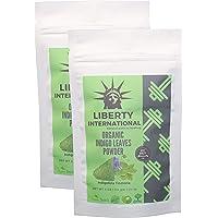 Liberty International Indigo Leaves Powder For Hair & Beard Dye (228G) (2 X 114 Gm) (Pack Of 2) Organic Certified NT3327