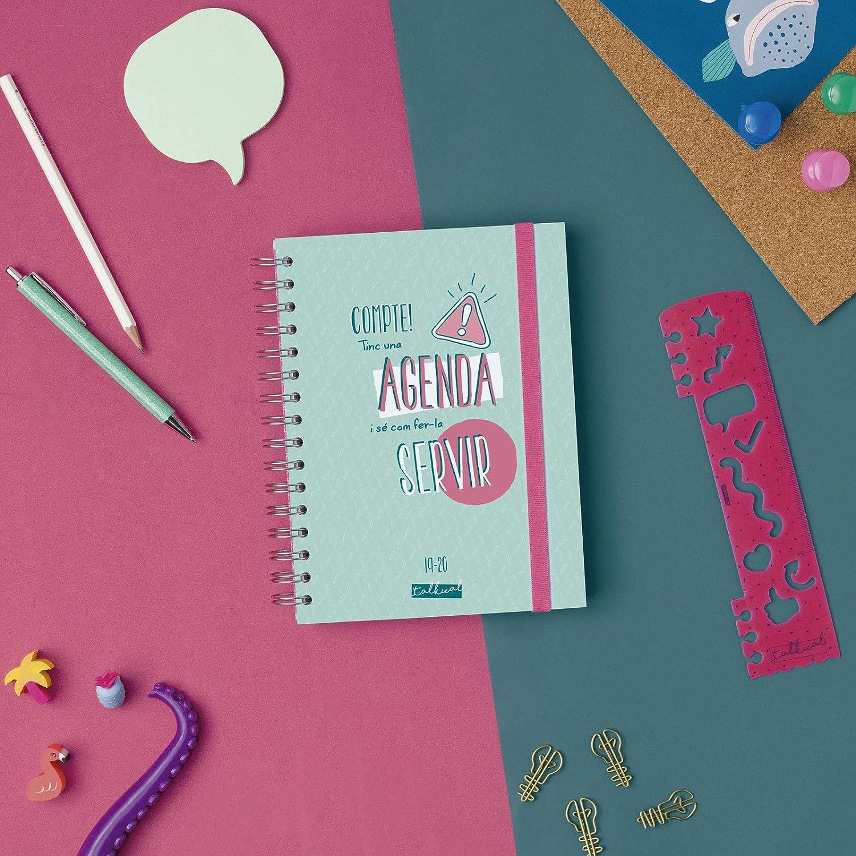 Amazon.com : Finocam 2019-2020 Diary 1 Day Page Catalan ...