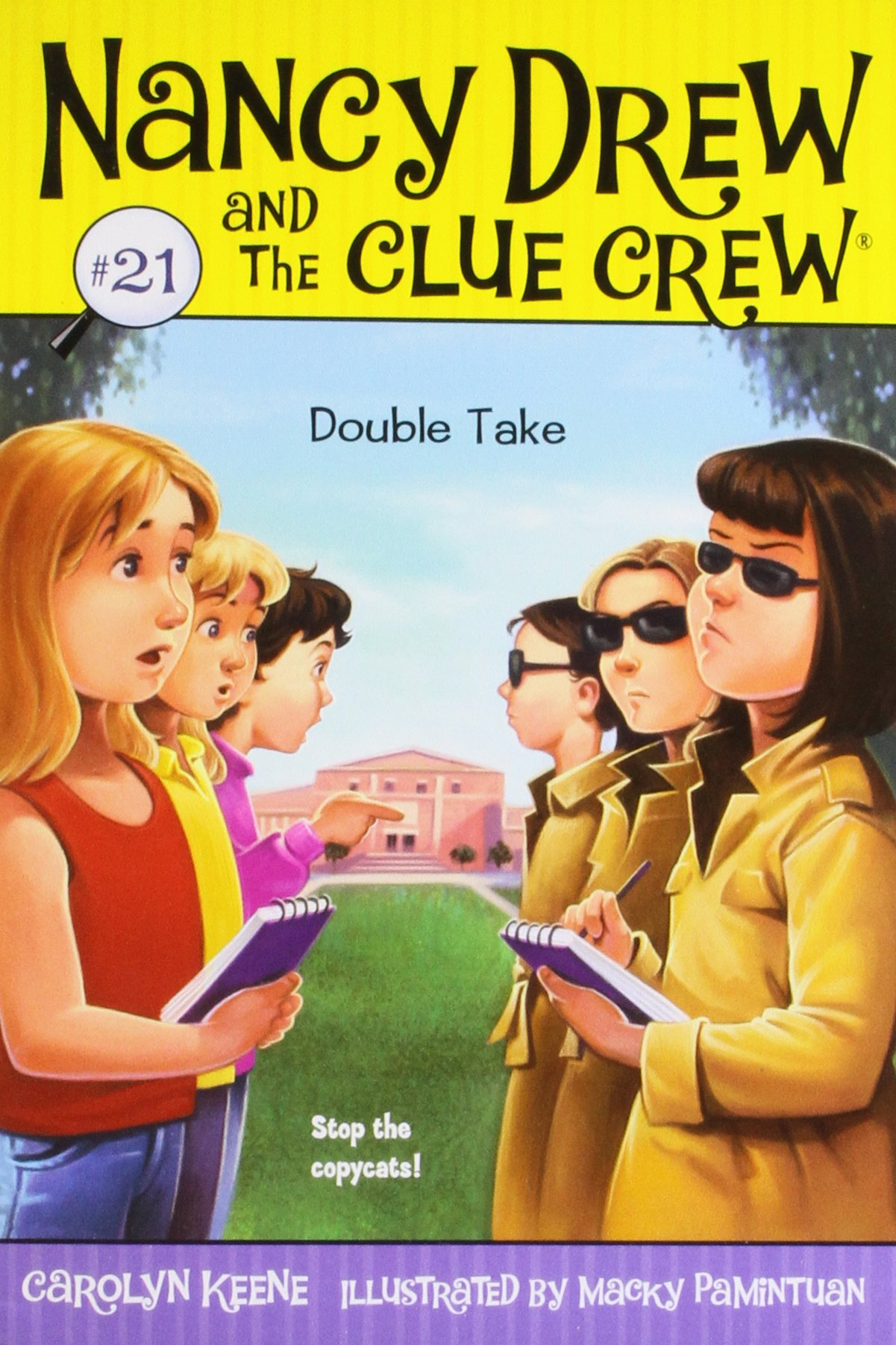 Read Online Double Take (Nancy Drew and the Clue Crew, No. 21) pdf epub