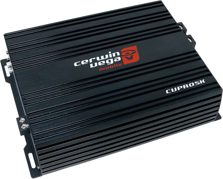 CERWIN Vega CVPRO5K 5000W Max Full Range Class D Monoblock Pro Amplifier w//Bass Control Knob