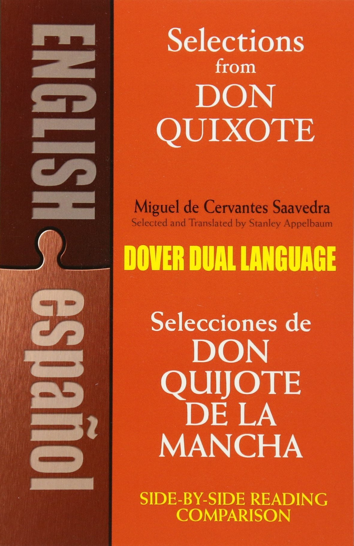 Selections from Don Quixote: A Dual-Language Book (Dover Dual Language Spanish) by Dover Publications