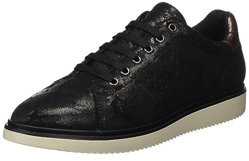 Geox J744FA00077, Zapatos de Cordones Unisex Adulto, Gris (Forest), 28 EU