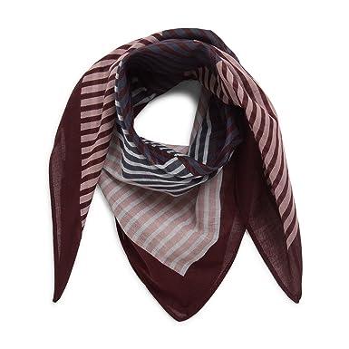 grande variété de styles Acheter Authentic choisir véritable MONOPRIX FEMME - Foulard carré en coton rayé - Femme ...