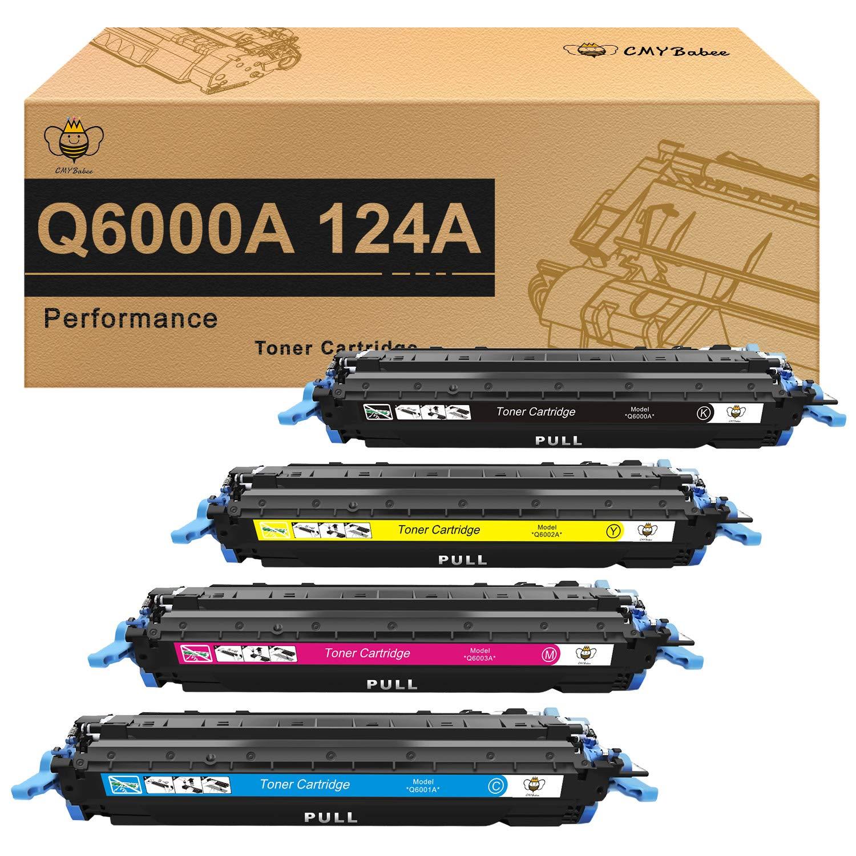Toner Alternativo ( X4 ) 4 Colores 124A Q6000A Q6001A Q6002A Q6003A 1600 2600n 2605dn 2605dtn CM1015 CM1017 MFP