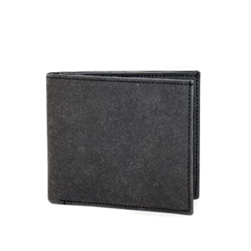 08b2431b5bcb6 FRITZVOLD ® Geldbeutel Männer mit RFID Schutz in schwarz Herren  Portemonnaie groß Brieftasche im Querformat Herrengeldbeutel