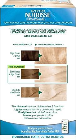 Garnier Nutrisse D+++ - Tinte para el cabello permanente ...