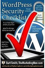 Wordpress Security Checklist Kindle Edition