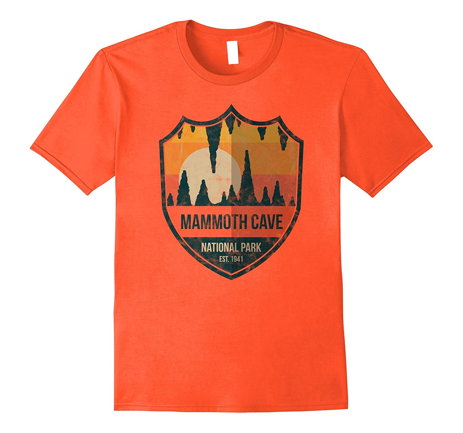 Mammoth Cave National Park Shirt Kentucky Emblem-TJ