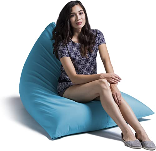 Jaxx Twist Outdoor bean bag chair, Lagoon Blue