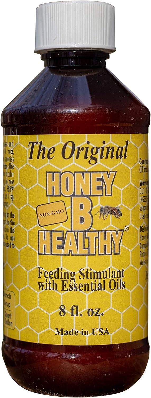 Honey B Healthy Original 8 oz. Bottle, Feeding Stimulant with Essential Oils