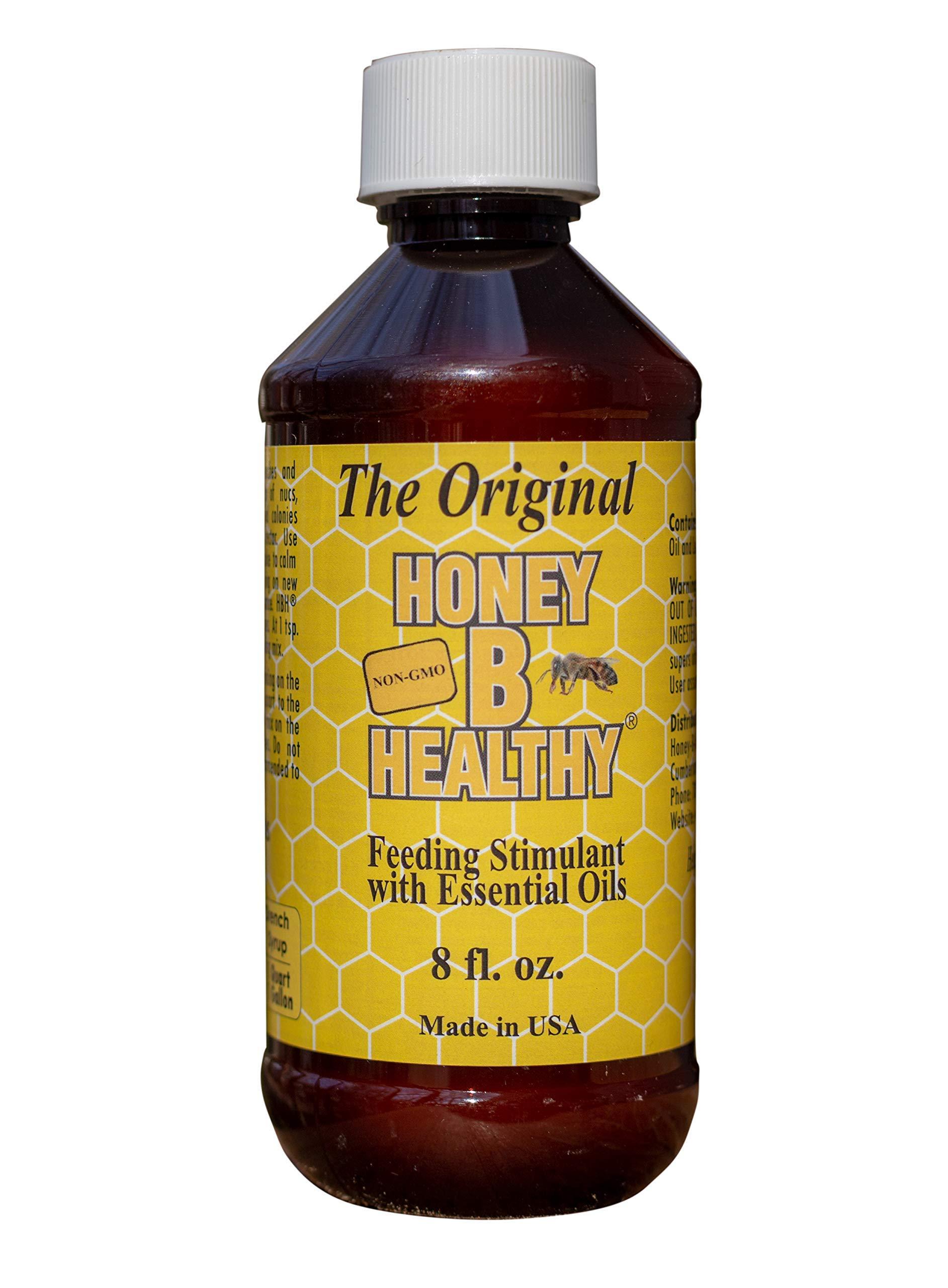 Honey B Healthy Original 8 oz. Bottle, Feeding Stimulant with Essential Oils by Honey B Healthy