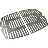 Grillrost. com - Parrilla de acero inoxidable/Rejilla de repuesto adecuada para todas las parrillas de la serie Weber Q1000 (ramas)