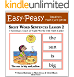 Sight Word Sentences Lesson 2: 5 Sentences Teach 20 Sight Words with Flash Cards (Learn to Read Sight Words)