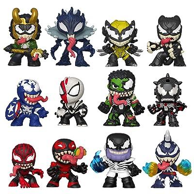 Funko Mystery Minis: Marvel Venom, Multicolor: Toys & Games